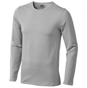 SLAZENGER •CURVE LONG SLEEVE T-SHIRT•200 g/m2•95% bavlna/5% elastan