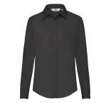 F170306 - F17•Ladies Long Sleeve Poplin Shirt