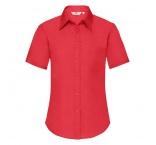 F180506 - F18•Ladies Short Sleeve Poplin Shirt