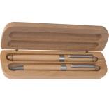 P1061401 - Guľôčkové pero (modrá) a roller (čierna náplň)