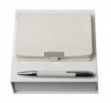 P200.167 - Set - guľôčkové pero a notes A6