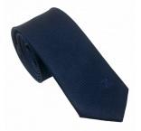 P200.644 - Pánska kravata s vyšitým monogramom, darčekové balenie