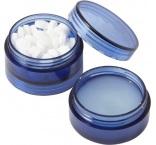 P266.056 - Mentolové cukríky (40ks) bez cukru a balzam na pery v plastovej krabičke