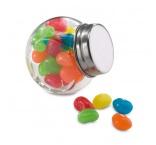 P280.038 - Farebné želatínové cukríky v sklenenej nádobe
