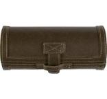 P281.016 - Súprava na leštenie topánok v luxusnom mäkkom puzdre z PU