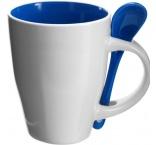 P354.059 - Keramický hrnček na kávu s lyžičkou (260 ml)