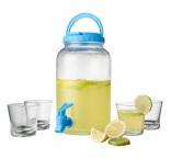 P372.006 - Sada 4 pohárov (200 ml) a dávkovačom (3000 ml)