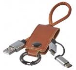 P460.388 - Kľúčenka a napájací kábel 3 v 1