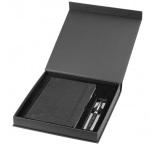 P500.653 - Guľôčkového pero (čierna náplň) a zápisník A5