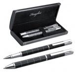 P532.129 - Guľôčkové pero (čierna náplň) a roller (modrá náplň)
