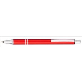 Hliníkové guľôčkové pero (modrá náplň)