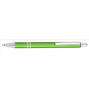 Hliníkové guľôčkové pero (modrá náplň), Green
