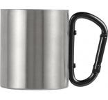 P813.608 - Hrnček s karabínkou, dvojstenný (200 ml)
