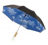P930.310 - Automatický dvojdielny dáždnik, priemer 95 cm