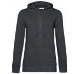BO812306 - O81•B&C Organic Zipped Hood /women