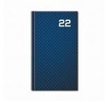 D20-22 - Mini diár A6 2022 - PRINT Blue