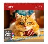 LP01 - Nástenný kalendár, Cats