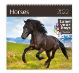 LP03 - Nástenný kalendár, Horses