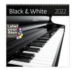 LP07 - Nástenný kalendár, Black & White