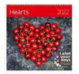 LP09 - Nástenný kalendár, Hearts