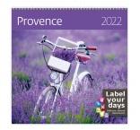 LP10 - Nástenný kalendár, Provence