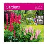 LP12 - Nástenný kalendár, Gardens