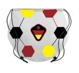 MB3010 - Football drawstring bag. Min 250 pcs