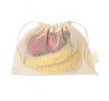 MB9005 - Mesh cotton grocery bag. Min 250 pcs
