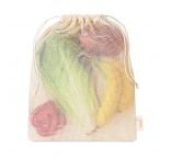 MB9006 - Mesh cotton grocery bag. Min 250 pcs