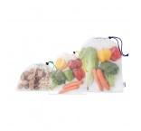 MB9104 - 3-pieces mesh RPET grocery bag set. Min 250 pcs