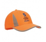 MH2304 - Luminescent safety cap with reflective trimming. Min 150 pcs