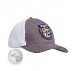 MH2313 - Heavy cotton front with single-colour visor and sport mesh back (6 panel). Min 150 pcs