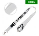ML1029 - Bamboo lanyard with buckle. Min 100 pcs