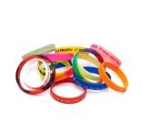ML3005 - Silicone wristband. Min 250 pcs
