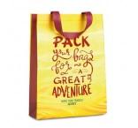 MO4330 - Vertical shopping bag (heat seal). Min 3.000 pcs