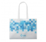 MO4912 - Full colour non woven corn PLA bag. Min 1.000 pcs