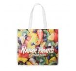 MO4924 - Foldable full colour non woven corn PLA bag. Min 1.000 pcs
