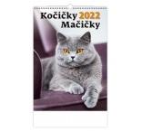 N119 - Nástenný kalendár, Kočičky/Mačičky
