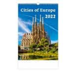 N123 - Nástenný kalendár, Cities of Europe