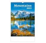 N126 - Nástenný kalendár, Mountains/Berge/Hory