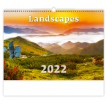 N128 - Nástenný kalendár, Landscapes