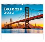 N129 - Nástenný kalendár, Bridges