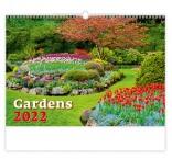 N130 - Nástenný kalendár, Gardens