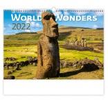 N134 - Nástenný kalendár, World Wonders