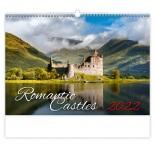 N135 - Nástenný kalendár, Romantic Castles
