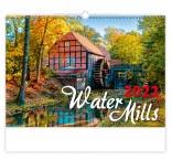 N136 - Nástenný kalendár, Water Mills