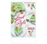 N139 - Nástenný kalendár, Food Style