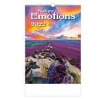 N140 - Nástenný kalendár, Nature Emotions