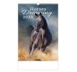 N152 - Nástenný kalendár, Horses Dreaming