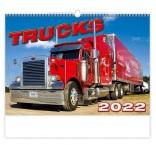 N155 - Nástenný kalendár, Trucks